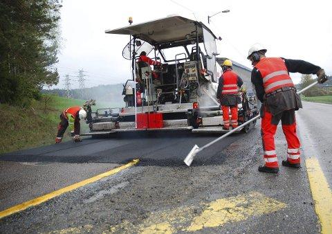 STATSBUDSJETTET: Fylkesveiene får mer.  FOTO: PRIVAT