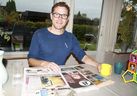ENGASJERT: Jens Nordahl i MDG Nordre Follo er klar for valgkamp, og det er naturen som er toppsaken.