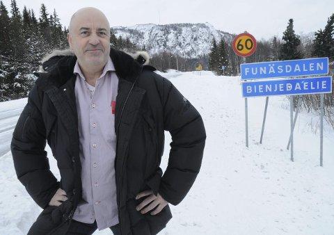 Fikk ORDNING OCH REDA: Kjell Arne Wagenius er ordfører i styret for Funäsdalen Skoterled AB.                                                                                                                                                                                                                FOTO: JON IVER GRUE