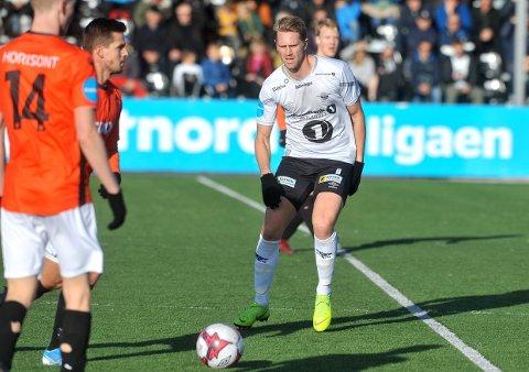 I AKSJON: Magnus Solum og Elverum skal møte Strømmen i årets første treningskamp fredag kveld.