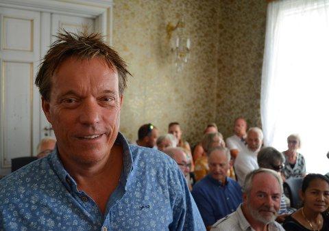 TAKKER FOR SEG: Styreleder Bjørn Gudbjørgsrud er inne i sitt siste år som styreleder for Festspillene i Elverum. (Foto: Bjørn-Frode Løvlund)