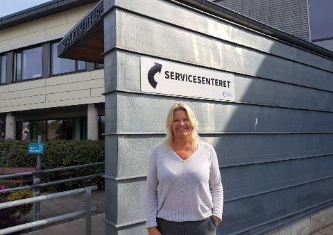 Helen Wedberg, leder for service og kommunikasjon i Færder kommune oppfordrer så mange som mulig til å forhåndsstemme.