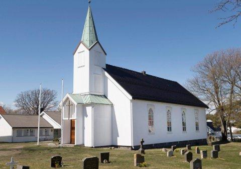 I Hvasser kirke er det tre konfirmanter til søndag.