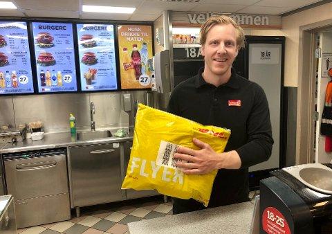 NYTT TILBUD: – En positiv ordning, både for oss og kundene, sier Even Øygarden om den relativt nye pakkeordningen.