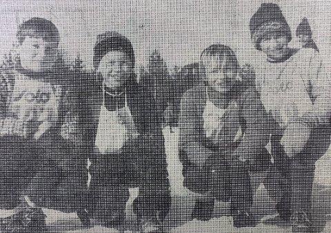 LANGESUND-KVARTETT: Fra venstre: Per Bjørn Hansen, Espen Sanna, Kjell Birger Amundsen og Morten Hesthammer.