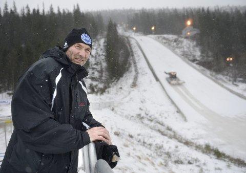 FLYT: Styreleder i Fageråsbakkene AS, Trond Jøran Pedersen, ser ut til å få gjennomslag for støtte hos Rana kommune. Foto: Øyvind Bratt