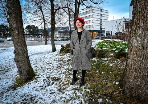 Ronja-Katrin Larsen er snart klar for premiere på forestillingen Doajvvo - Håp.