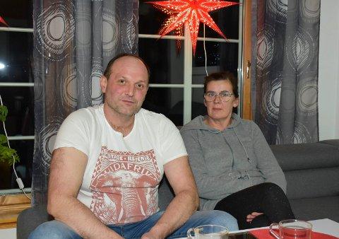 NYTT HUS: Robert Jarzebczyk og Aneta Jobczyk feirer jul i et nytt hjem i år.