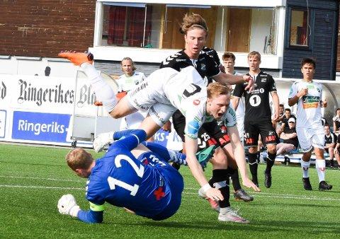 SLITER: Andreas Skattum Nordby har slitt med lite spilletid for HBK denne sesongen.