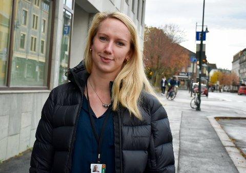 NY KOMMUNEPSYKOLOG: Liv Helene Riis (27) har fått ansvaret for å lede arbeidet med å forebygge psykiske vansker hos barn og unge mellom 0-23 år, et fagområde hun brenner for.