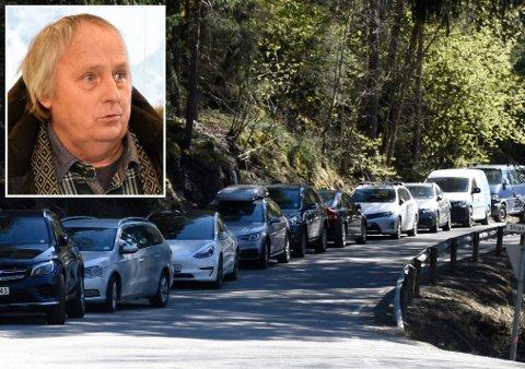 HÅPER SAKEN TAS OPP: Utvalgsleder Roger Larsen ville gjerne tatt opp parkeringen ved Mørkgonga som politisk sak.