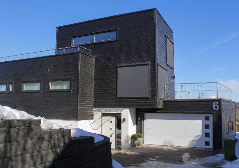 LØRENSKOG: Kyrre Grepps vei 6 er solgt for kr 12.800.000.