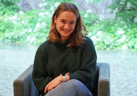 Anna Stylianou Lerpold fra Jessheim har jobbet hardt for å nå målene sine.
