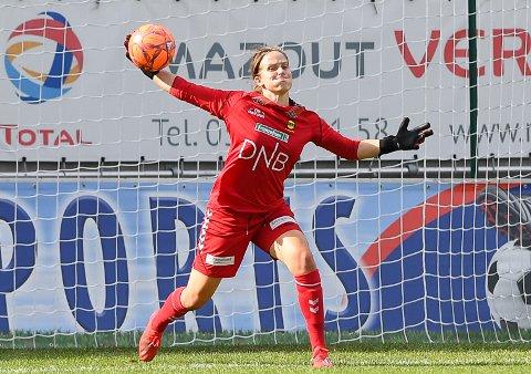 TABBET SEG UT: Ida Norstrøm er glad for at tabben hun gjorde etter 85 minutter ikke ble avgjørende for utfallet av kampen.