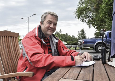 Fikk napp: Båtleder Kjell Atle Kjønnø er evig takknemlig overfor BI-Brygga AS. Arkivfoto: Flemming H. Tveitan