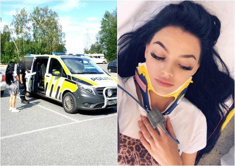 FREMDELES PLAGET: Stina Bakken ble utsatt for blind vold på Skjellvika i sommer.