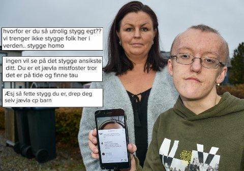 Johannes ble hetset på det groveste. Nå har han fått en helt ny selvtillitt, sier mamma Eva Midtbø.