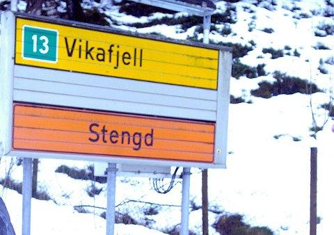 VIKAFJELLET: vegen over Vikafjellet er førebels stengd på grunn av eit trafikkuhell. (Arkivfoto)