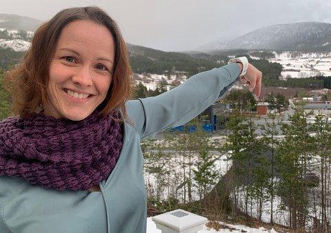 NABO: Den nye formidlingsleiaren Åse Neraas er nesten nabo med tomta der ViteMeir skal byggjast.