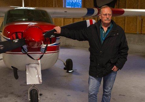 GUTTEDRØMMEN: Allerede som elleveåring innså Stein Magne Lian at det var flyger han skulle bli. (Begge foto: Kent Roar Nybø)