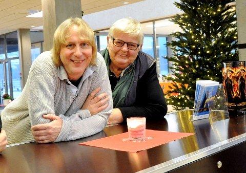 FORTJENER GATENAVN?: Både mangeårig festivalleder Jostein Forsberg og biblioteksjef Ragnhild Kraugerud fortjener gatenavn i den nye bydelen, mener forslagsstillere.