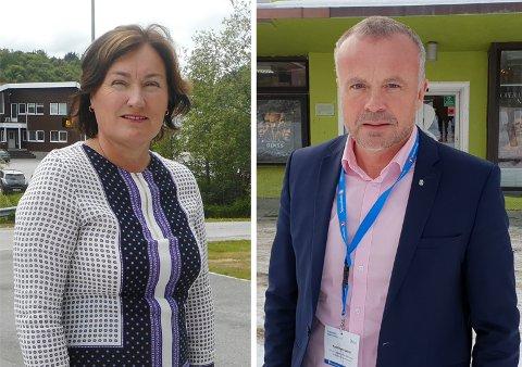 Nestleder Ingrid Rangønes og leder Kjell Neergaard i Nordmøre regionråd Orkide kaller det uakseptabelt å utsette kvinner på Nordmøre for enda mer usikkerhet og risiko.
