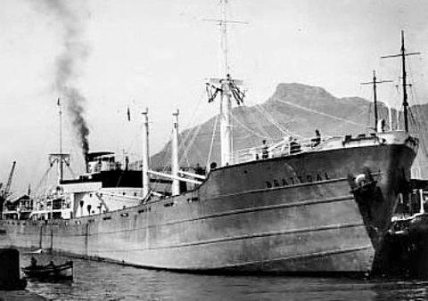 «Brattdal» ble bombet og gikk ned i 1941.