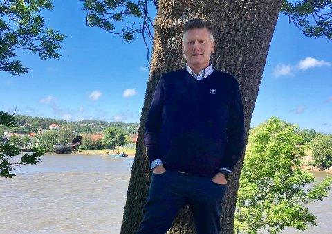 Bjørn Hauglann, divisjonssjef salg og marked i Talgø Møretre.