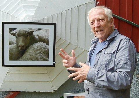 TILBAKE: Reidar Østvik besøkte museet med fotokunst også i 2011. Søndag er han tilbake.