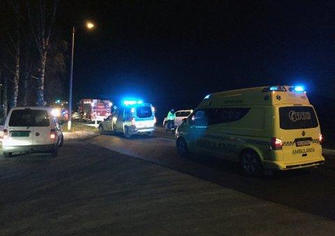 OMKOM: En mann fra Vestfold omkom i en møteulykke i Lågendalen.