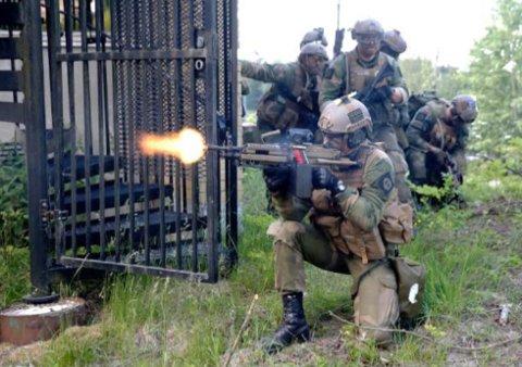 STOR ØVELSE: – Det kan påregnes forflytning av militære kjøretøy og personell, og noe støy i forbindelse med den militære aktiviteten/operasjonene, opplyser HV-01 i en pressemelding.