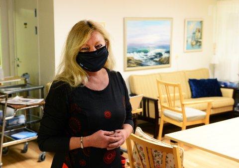 KORONA: Tønsberg-ordfører Anne Rygh Pedersen må i karantene.