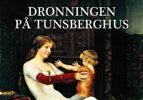 DRONNING: Dronning Blanka og minstesønnen Håkon pryder forsiden av Wenche A. Bull-Gjertsens hefte om «den glemte» dronningen.