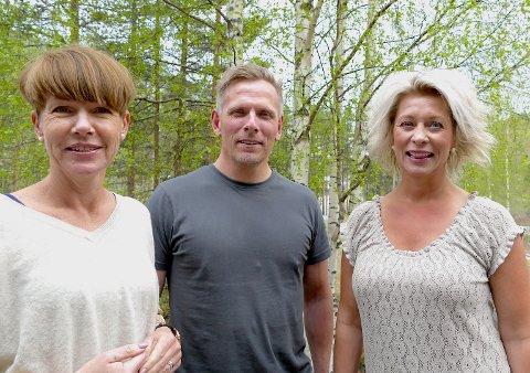 Hilde Tveiten Døvre, Henning Wangsnes og Karianne Borchgrevink håper å se mange fra Valdres på konferansen.