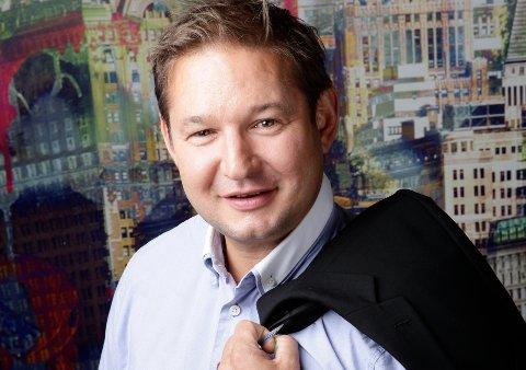 SKAL SERVE BEDRIFTENE: Stig Berg-Johansen blir ny regionleder for bedriftsmarkedet i Tønsberg, Nøtterøy, Horten, Holmestrand i Sparebank 1 BV.