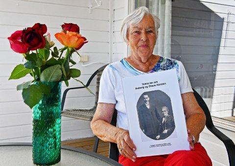 Åse Eline (Åselill) Persson har hatt en drøm om å få besteforeldrenes historie fra Steilene ned i bokform. Nå har drømmen gått i oppfyllelse.
