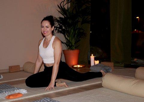 LIVSSTIL: – Yin Yoga  er en motvekt til stress og prestasjonskrav, forteller Heidi Bloin, som også vil invitere til foredrag og workshops i lokalene i Brekkeveien.