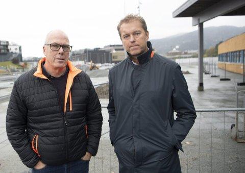 Roald Bruun-Hanssen i Åsane Arena og Espen Brochmann i Vestlandshallen lanserer fire mulige løsninger for å unngå trafikkaos utenfor idrettsanleggene. De mener anlegget vil bli bruk at personer fra hele Bergen og omegn, og at mange må kjøre bil for å komme frem.
