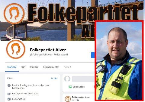 FRÅ FOLKEAKSJON TIL POLITISK PARTI: Vidar Straumøy meiner det er uetisk av Folkepartiet Alver å bruke Facebook-gruppa frå 2013 til det nye partiet.