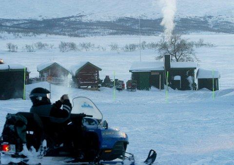 Skaper reaskjoner: Ferden mot å få snøscooterløyper i kommunene har ikke bare vært lett. Nå er kommunen positiv til å lage ny løype, men flere vender seg i mot forslaget.