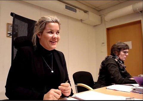 Gjennomslag: Ordfører Aase Refsnes var fornøyd med å få gjennom flere av SVs forslag i formannskapet i Steigen.