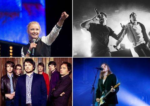 Astrid S, Karpe Diem, Wilco og Lars Winnerbäck skal alle stå på sceenen på vestlandsfestivaler til sommeren.