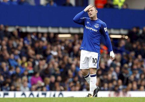 Everton og Wayne Rooney sliter tungt om dagen. De vil antakeligvis hvile spillere i ligacupen.