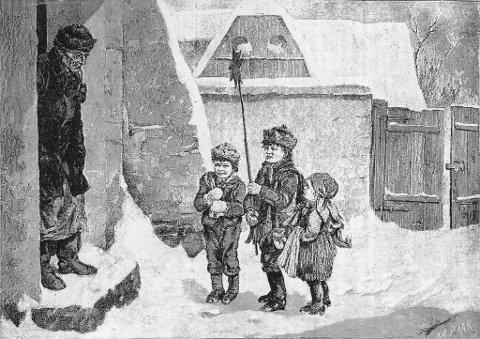 Nissen var fraværende, men det fantes andre tradisjoner for små og store i Bergen – som «Julebukken» og ikke minst «Julestjernen».
