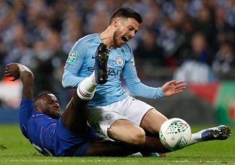 Manchester City og David Silva må klare seg uten flere sentrale spillere i onsdagens kamp mot West Ham. (AP Photo/Alastair Grant)