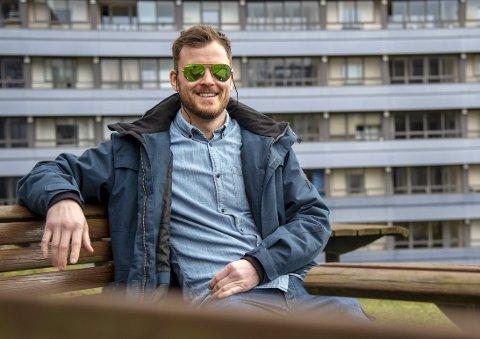 Klar for kamp: Tim-Robin Lihaug lar seg ikke skremme av at Timo Laine hevder han er i sitt livs form. FOTO: EIRIK HAGESÆTER