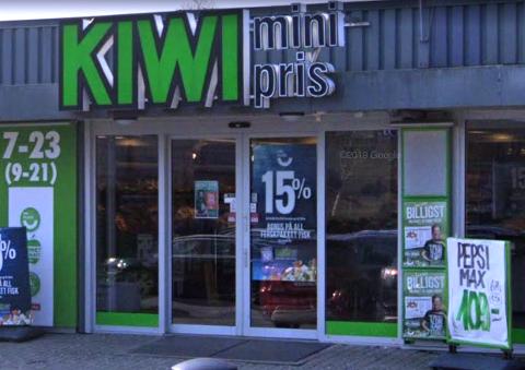 Den svært ubehagelig episoden skjedde da barnemoren var på handletur i denne butikken i slutten av mai.
