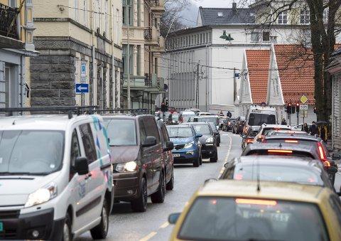 Privatbiler med giftig utslipp skal fjernes først, ifølge Haakestad. ARKIVFOTO: RUNE JOHANSEN
