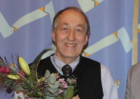 Jarle Dale vant i 2017 Øygarden kommune sin kulturpris.