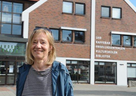 Pensjoneres: Etter flere gode år hos Randaberg folkebibliotek, trer Gro av til sommeren.